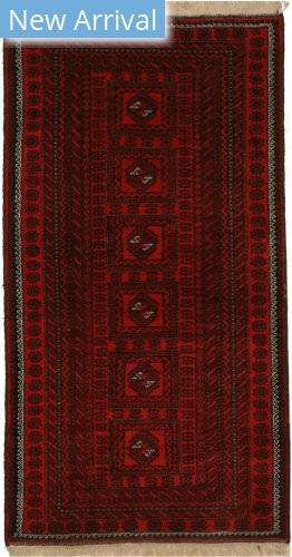Eastern Rugs Baluchi X36120 Red Area Rug