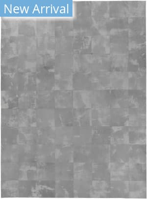 Exquisite Rugs Capri Hair on Hide Gray Area Rug