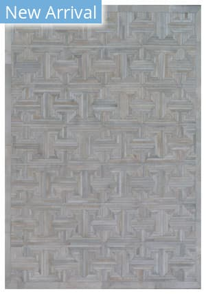 Exquisite Rugs Natural Hair on Hide Ivory - Gray Area Rug