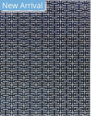 Exquisite Rugs Natural Hair on Hide Navy - Ivory Area Rug