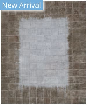 Exquisite Rugs Granite Hide Hand Stitched 2390 Ivory Area Rug