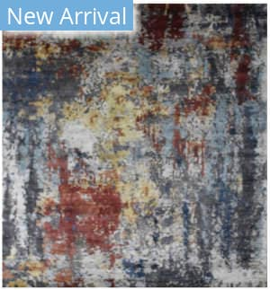 Exquisite Rugs Aurora Hand Knotted Blue - Gray Area Rug