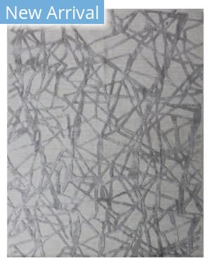 Exquisite Rugs Windsor Hand Woven Silver - Gray Area Rug