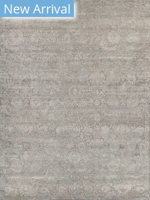 Exquisite Rugs Meena Hand Knotted Gray Area Rug
