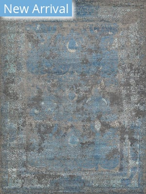 Exquisite Rugs Maison Hand Knotted Gray - Blue Area Rug