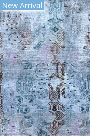 Exquisite Rugs Ashley Hand Knotted Blue - Gray Area Rug