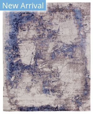 Exquisite Rugs Roset Hand Woven Silver - Blue Area Rug