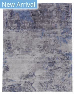 Exquisite Rugs Reflections Hand Woven Silver Area Rug