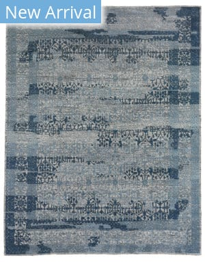 Exquisite Rugs Radiance Hand Knotted 2566 Blue Area Rug
