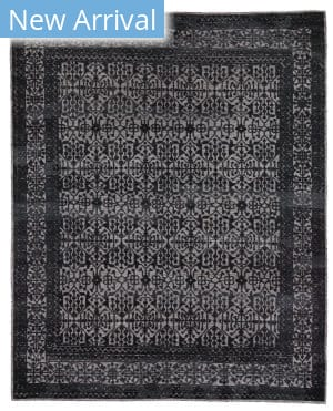 Exquisite Rugs Radiance Hand Knotted 2567 Navy Blue Area Rug