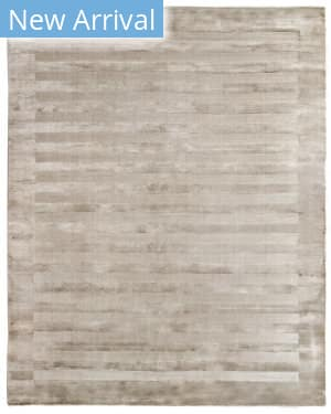 Exquisite Rugs Panel Stripe Hand Woven Light Beige Area Rug