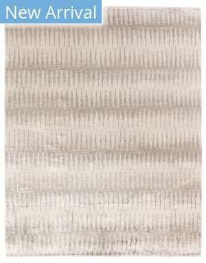 Exquisite Rugs Ikat Hand Knotted Light Gray - Brown Area Rug