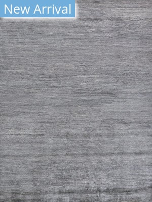 Exquisite Rugs Crush Hand Knotted Silver - Gray Area Rug