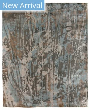 Exquisite Rugs Koda Hand Woven Blue - Brown Area Rug