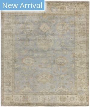Exquisite Rugs Oushak Hand Knotted Gray - Ivory Area Rug