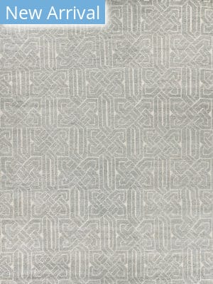 Exquisite Rugs Prague Hand Knotted Aqua Area Rug
