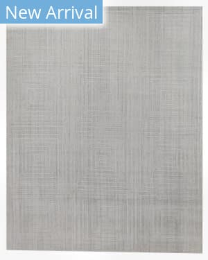 Exquisite Rugs Robin Embossed Hand Woven White Area Rug