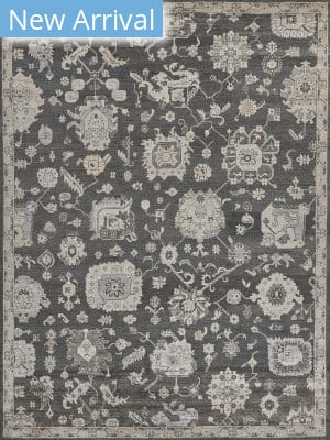 Exquisite Rugs Museum Hand Knotted Midnight Blue Area Rug