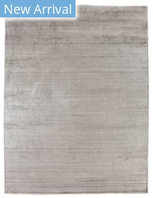 Exquisite Rugs Purity Hand Woven Silver Area Rug