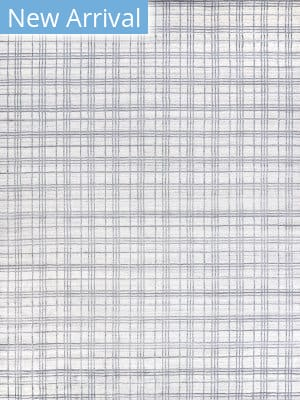 Exquisite Rugs Fairbanks Hand Woven White - Light Silver Area Rug