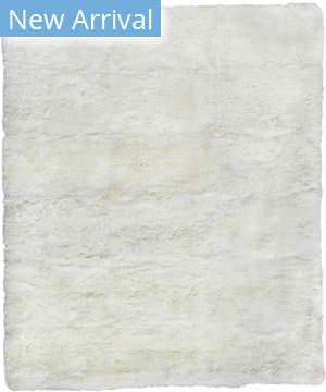 Exquisite Rugs Royal Sheepskin Shag Ivory Area Rug