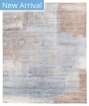 Exquisite Rugs Amber Hand Knotted 4211 Blue - Brown Area Rug