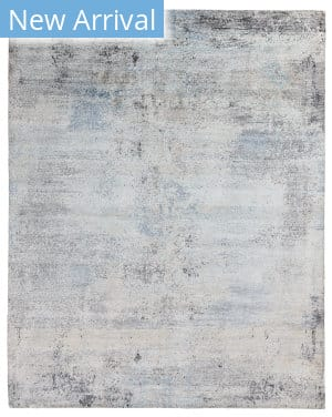 Exquisite Rugs Amber Hand Knotted 4212 Gray - Blue Area Rug