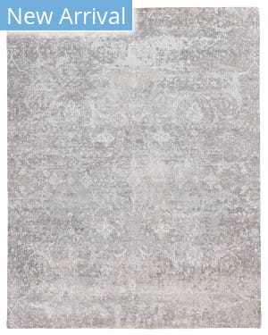 Exquisite Rugs Amber Hand Knotted 4228 Gray - Multi Area Rug