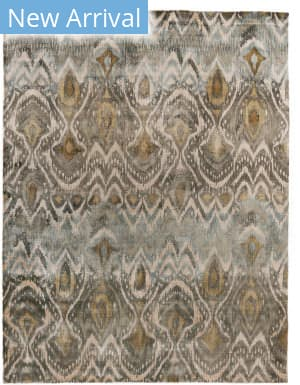 Exquisite Rugs Koda Hand Woven Gray Area Rug