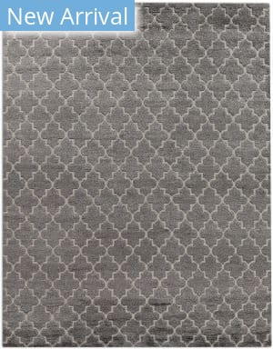 Exquisite Rugs Luxe Look Hand Woven Gray Area Rug