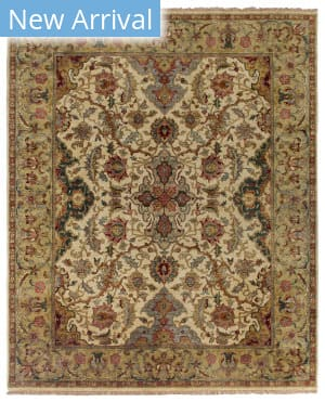 Exquisite Rugs Polonaise Hand Knotted Cream - Spruce Area Rug