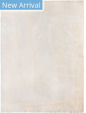 Exquisite Rugs Softest Touch Hand Woven White Area Rug