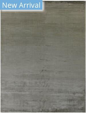 Exquisite Rugs Courduroy Hand Woven Dark Gray Area Rug