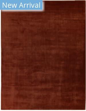 Exquisite Rugs Gem Hand Woven Orange Area Rug