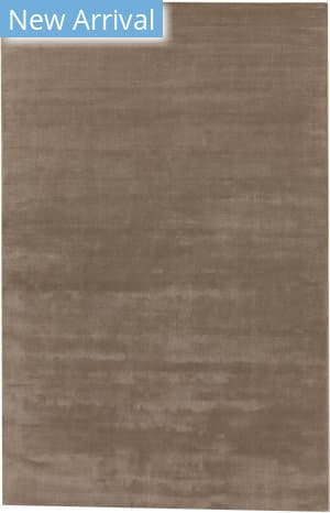 Exquisite Rugs Gem Hand Woven Light Silver Area Rug