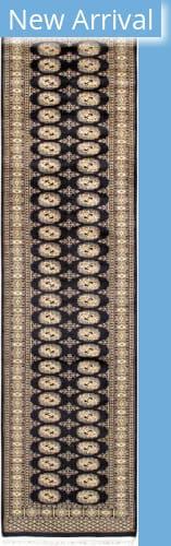 Famous Maker Bokara 36152 Black Area Rug