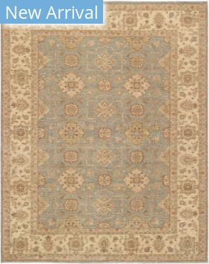 Famous Maker Sultanabad 39542 Light Gray - Ivory Area Rug