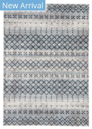 Famous Maker Datone Tanjia Dat-1020 Blue - Gray Area Rug