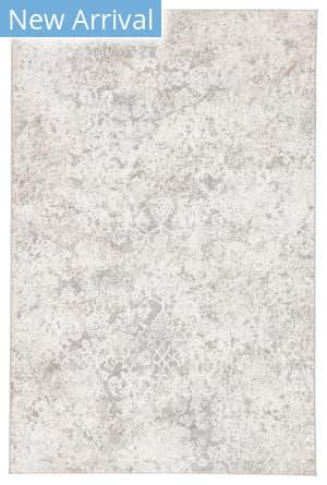 Famous Maker Natasha Monroy Nsh-1010 White - Light Gray Area Rug