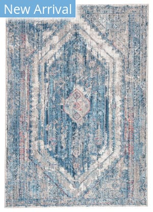 Famous Maker Ostia Navi Ost-1040 Blue - Gray Area Rug