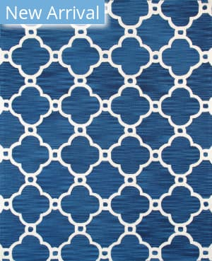 Famous Maker Transitional Pbw-820 Navy - Ivory Area Rug