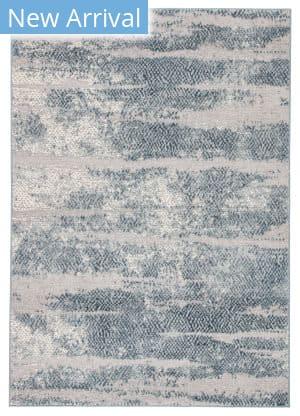 Famous Maker Tresalan Montclair Trs-1090 Silver - Blue Area Rug