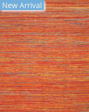 Rugstudio Sample Sale 184657R Orange - Multi Area Rug