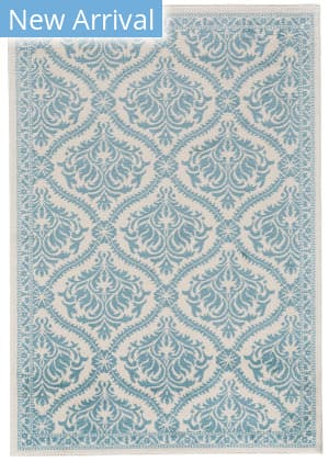 Feizy Burley I3264 Cotton - Aqua Area Rug