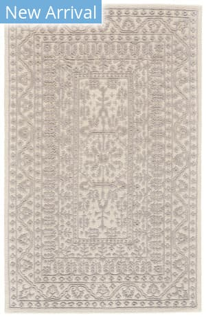 Feizy Branson 8754f Ivory - Light Gray Area Rug