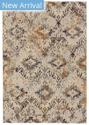 Feizy Zenith I3101 Cotton - Orange Area Rug