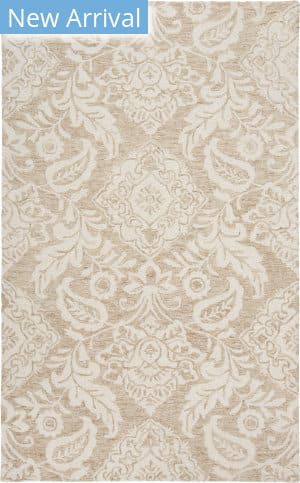 Feizy Belfort 8776f Taupe - Ivory Area Rug