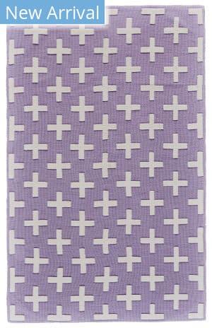 Feizy Aubrey I4801 Lavender - White Area Rug