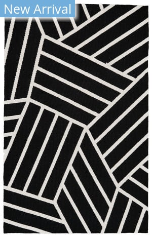 Feizy Aubrey I4804 Black - White Area Rug