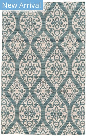 Feizy Leon 0114f Blue - Ivory Area Rug